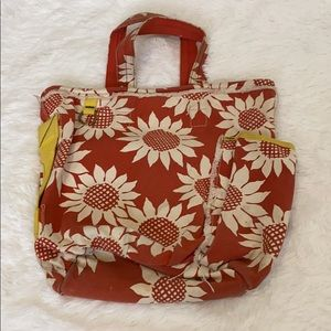 Sunflower Printed Tote